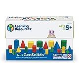 Learning Resources Mini kit de geosólidos en informes