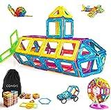 Condis 95 Piezas Bloques de Construcción Magnéticos para Niños, Juegos de Viaje Construcciones Magneticas Imanes Regalos Cumpleaños Juguetes Educativos para Niños Niñas de 2 3 4 5 6 7 8 Años Infantil