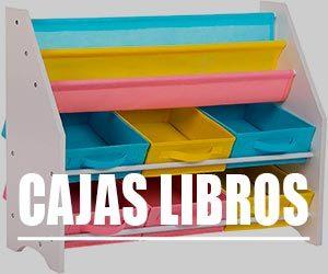 Cajas para libros infantil