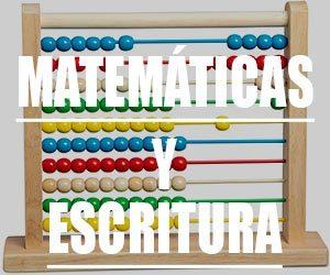 Rincón matemáticas y escritura