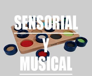Materiales sensoriales y musicales